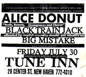 The Tune Inn - New Haven, CT. 1993
