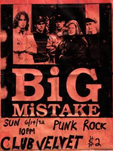 Club Velvet - Augusta, GA. 1992