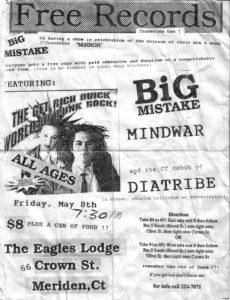 The Eagles Lodge - Meriden, CT. 1992
