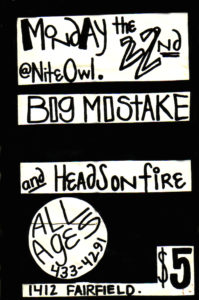The Night Owl - Pensacola, FL. 1991