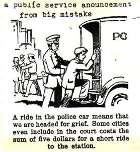 Public Service Postcard. 1989
