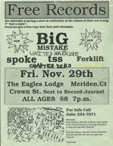 The Eagles Lodge - Meriden, CT. 1991 Photo by Chris White