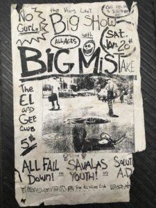 El n Gee Club - New London, CT. 1996 Photo by William Griggs