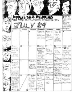 The Populous Pudding - Willimantic, CT. July 1989 Photo by The Populous Pudding